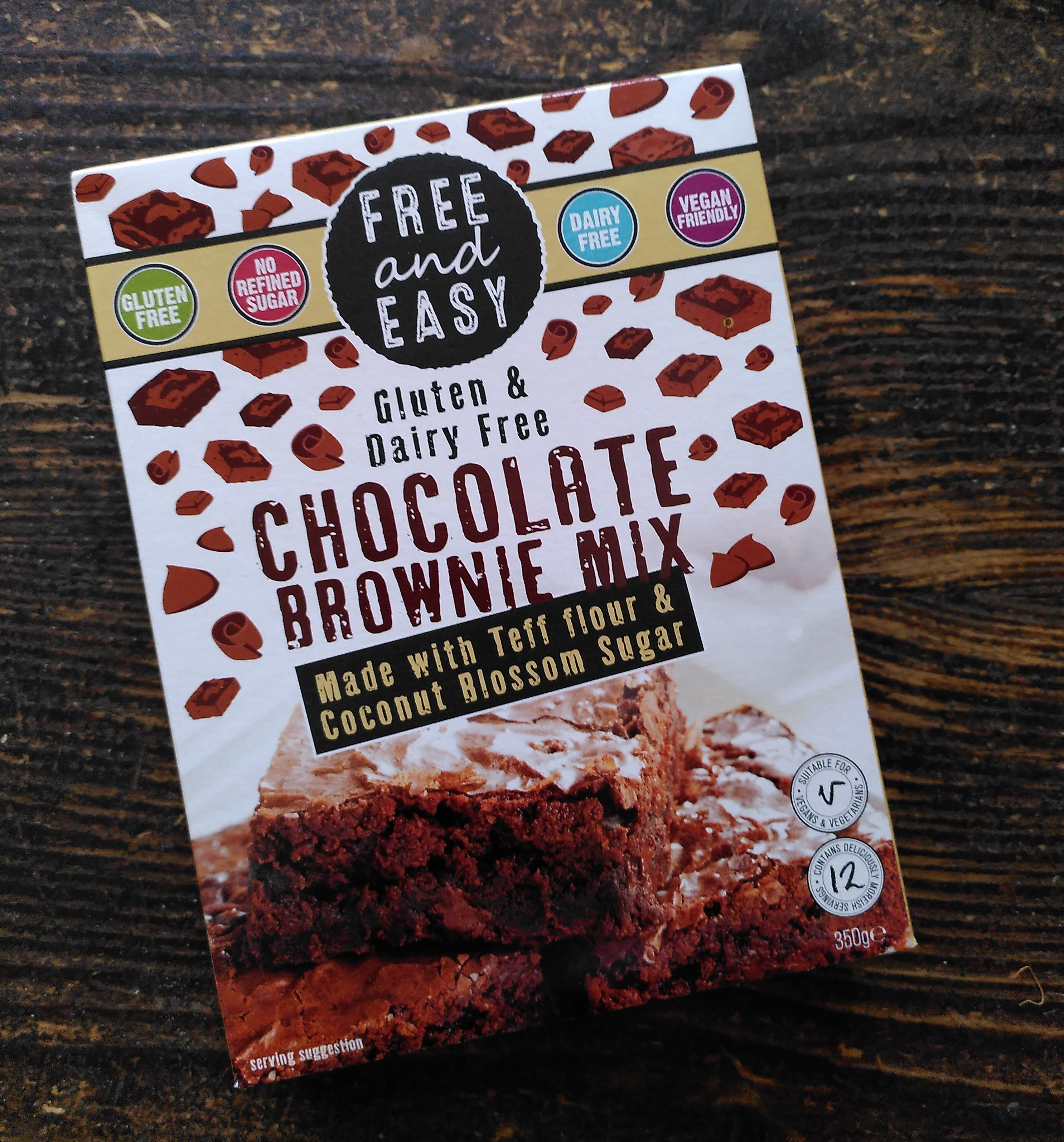 Free and Easy Chocolate Brownie Mix