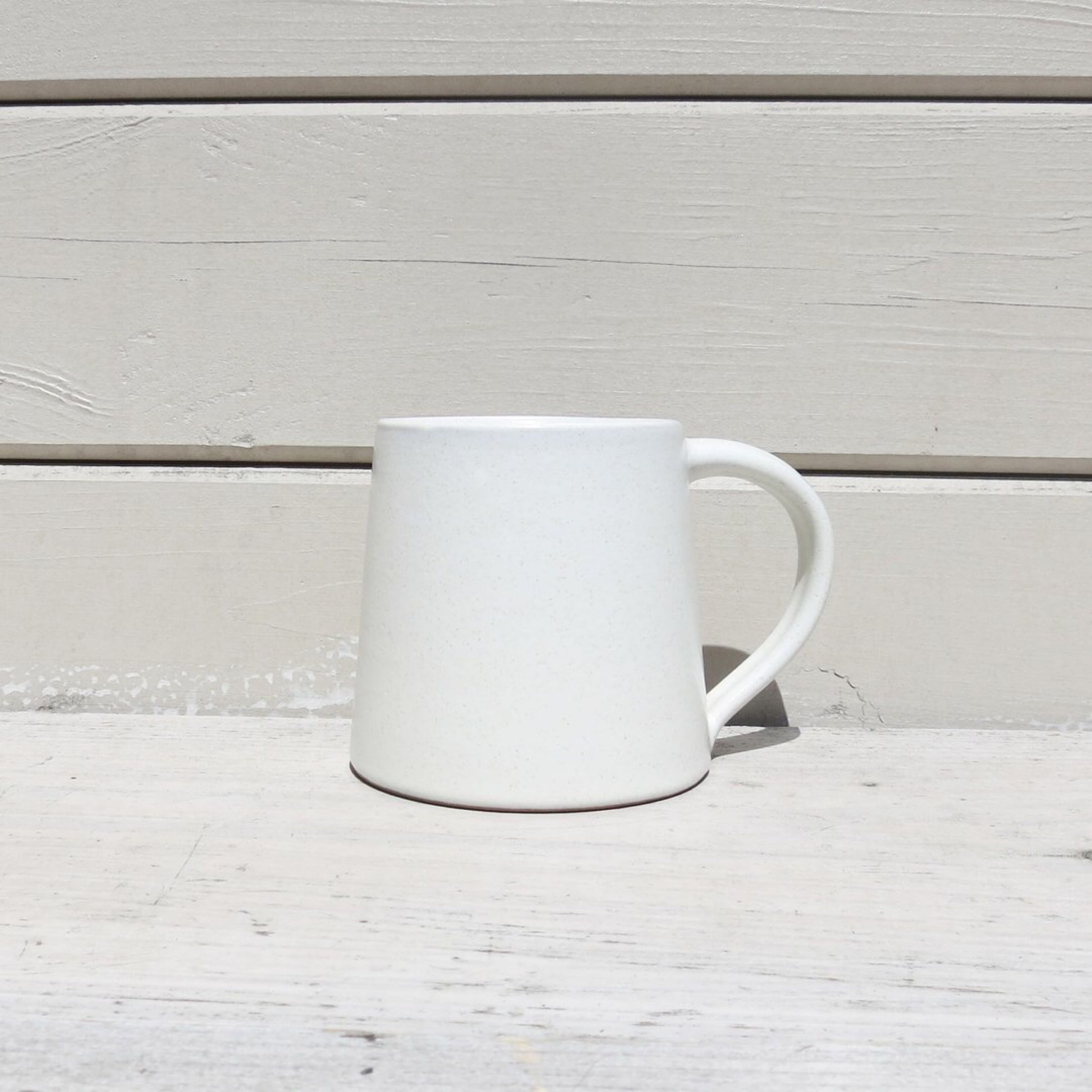 Stoneware Mug Chalk