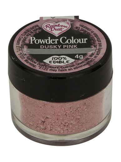 Rainbow Dust Dusky Pink - Pulverfärg