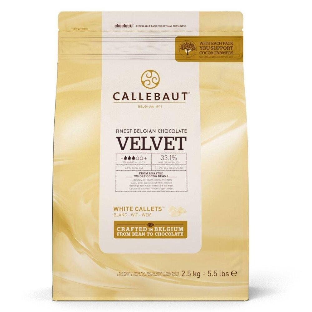Rea 25% Callebaut Velvet Choklad 2,5kg