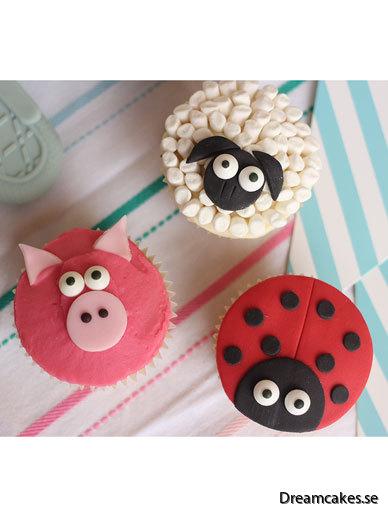 Cake Decor - Ätbara Ögondecorationer