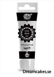 Pastafärg ProGel - Black
