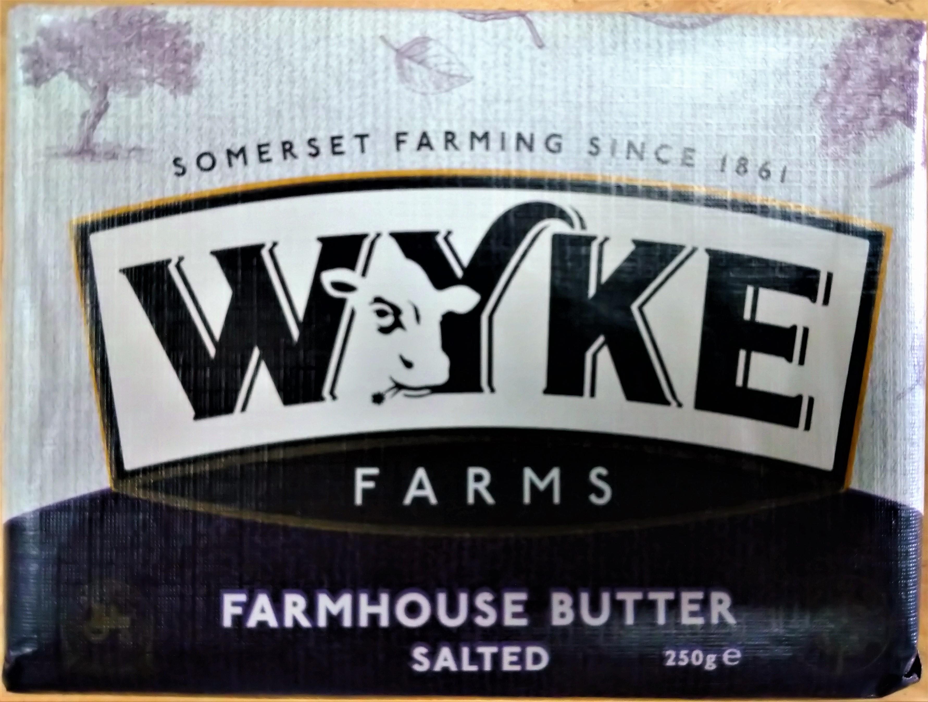Wyke Salted Butter, 250g