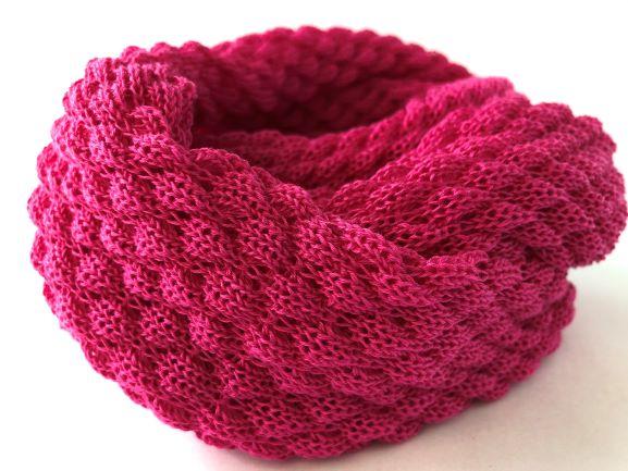 Tubetørklæde stærk Pink