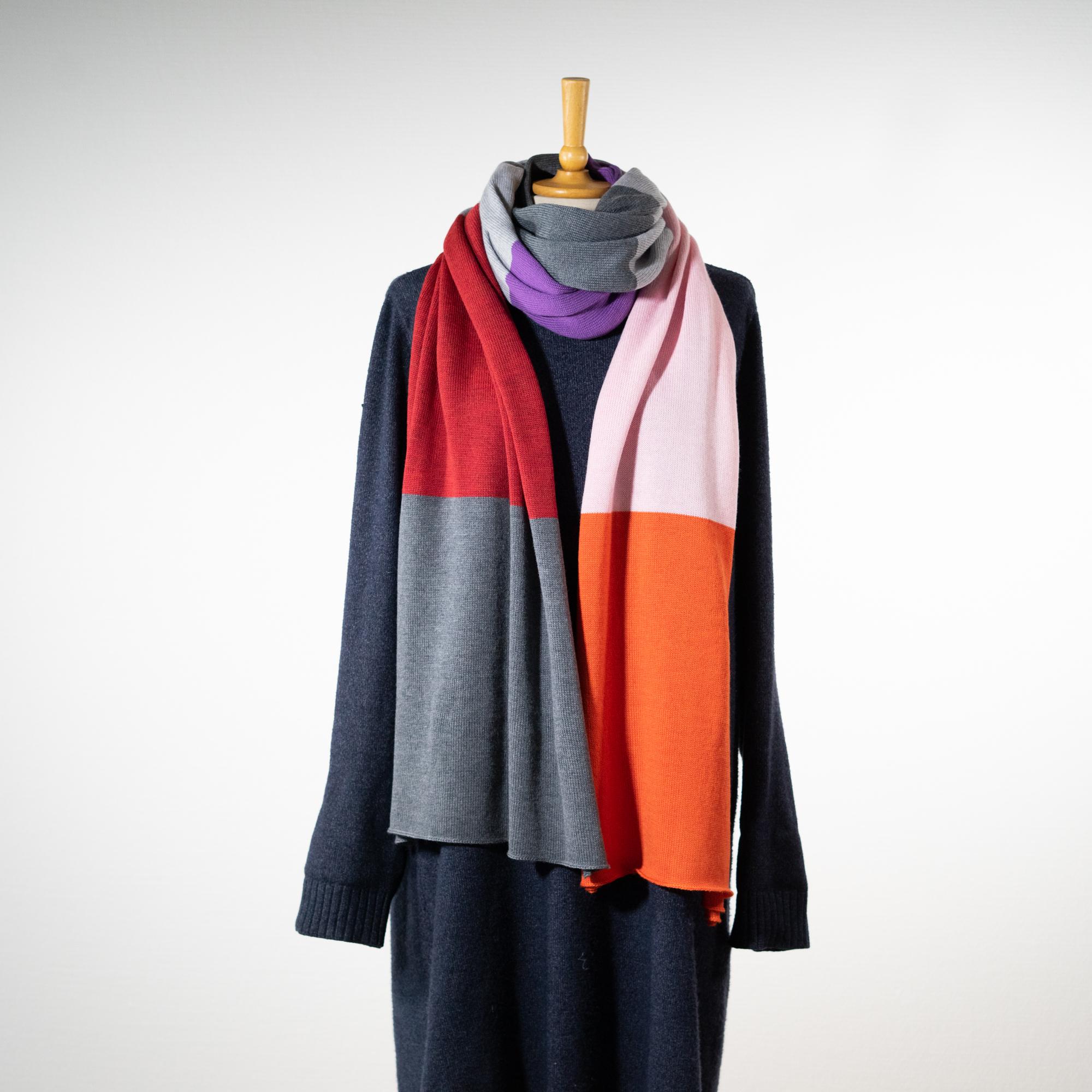 "Uld tørklæde ""Helene""#5"