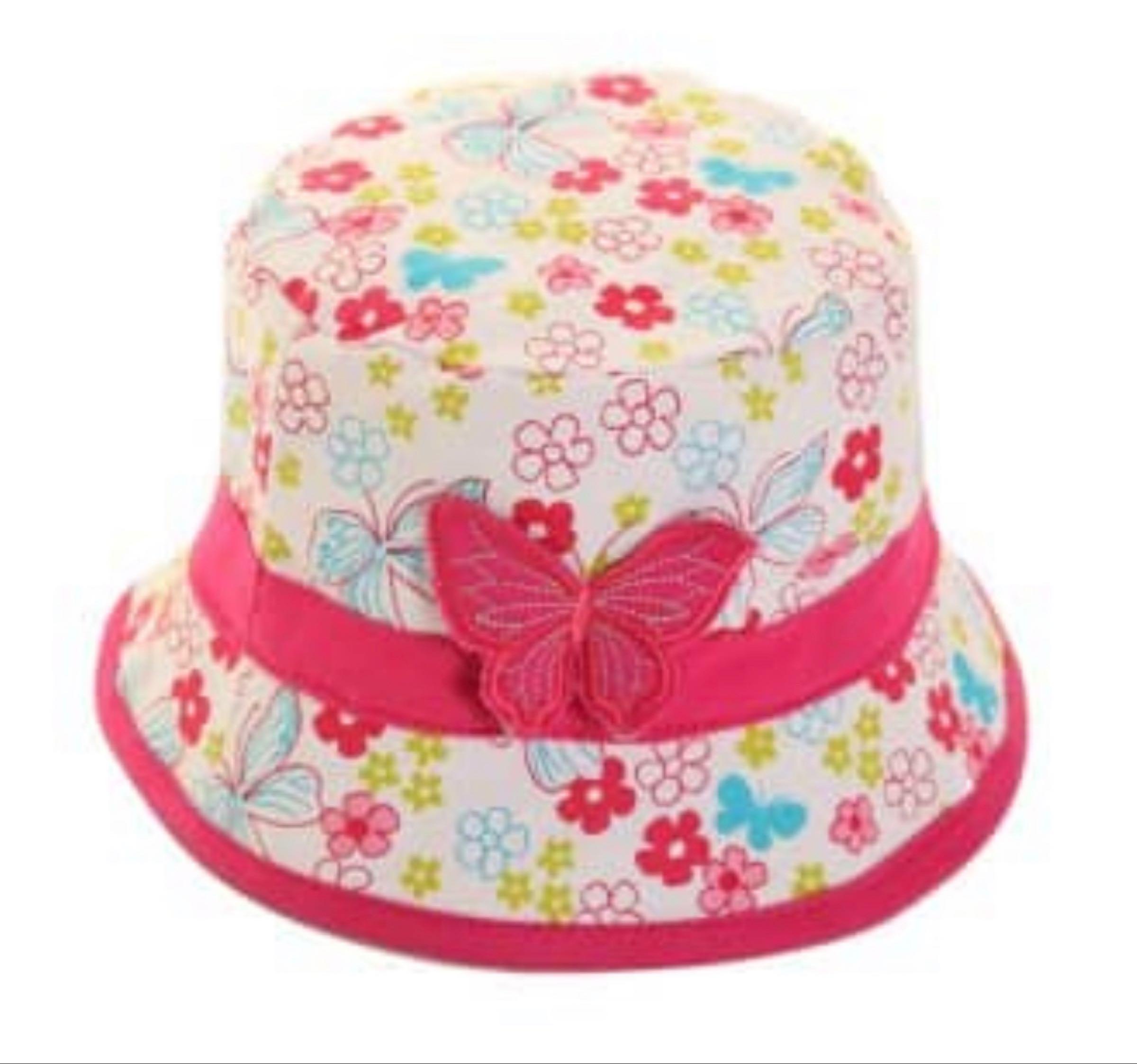 Butterfly bucket hat 55cm