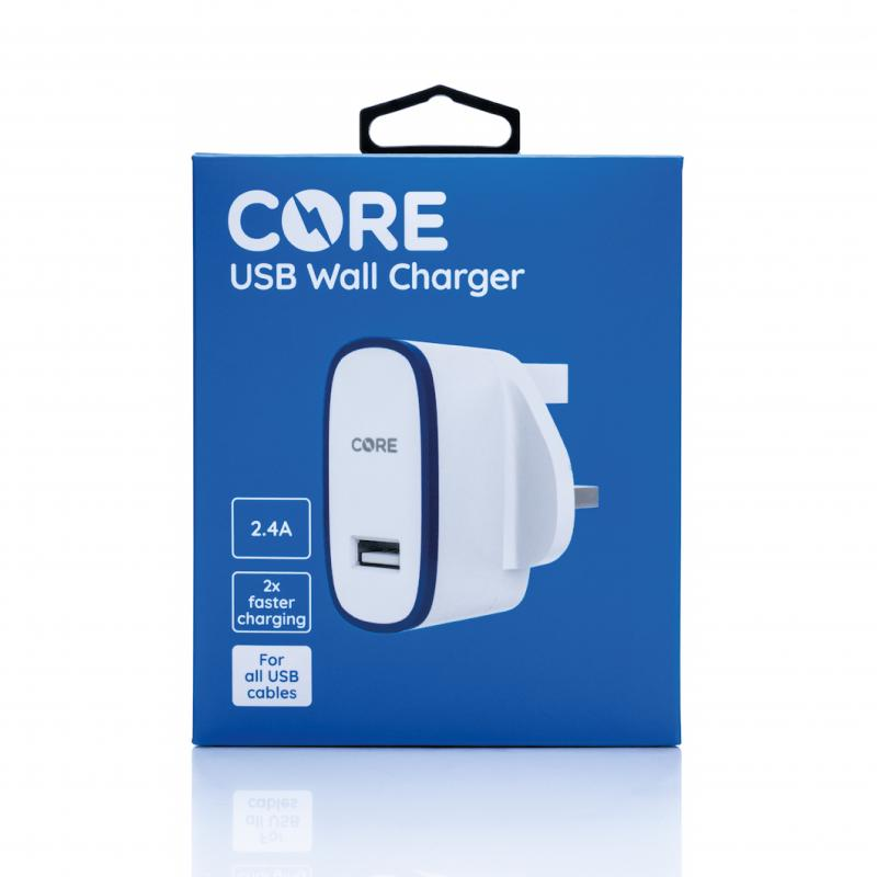 CORE USB Wall Charger 2.4A
