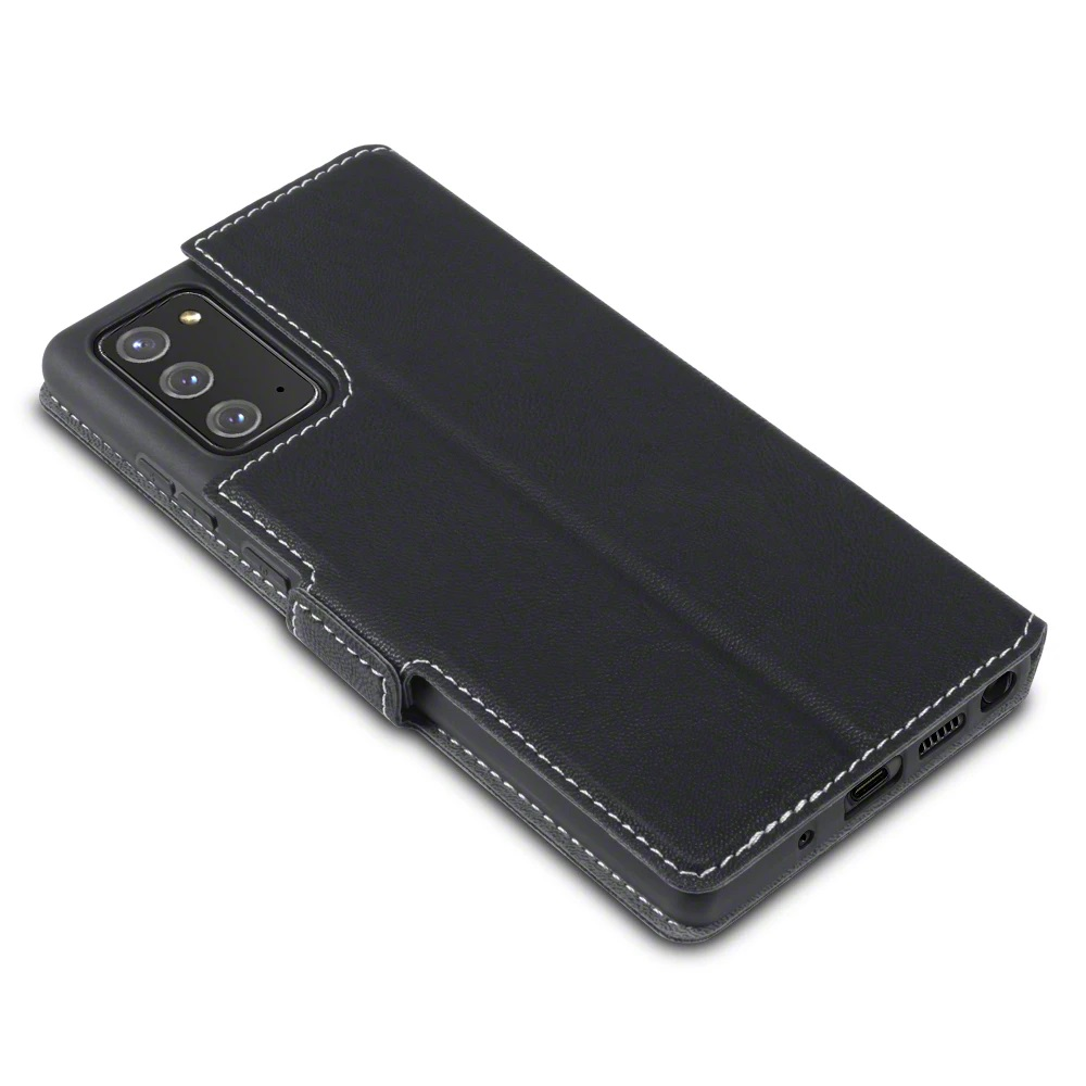 Samsung Galaxy Note 20 Premium Wallet Case - Black