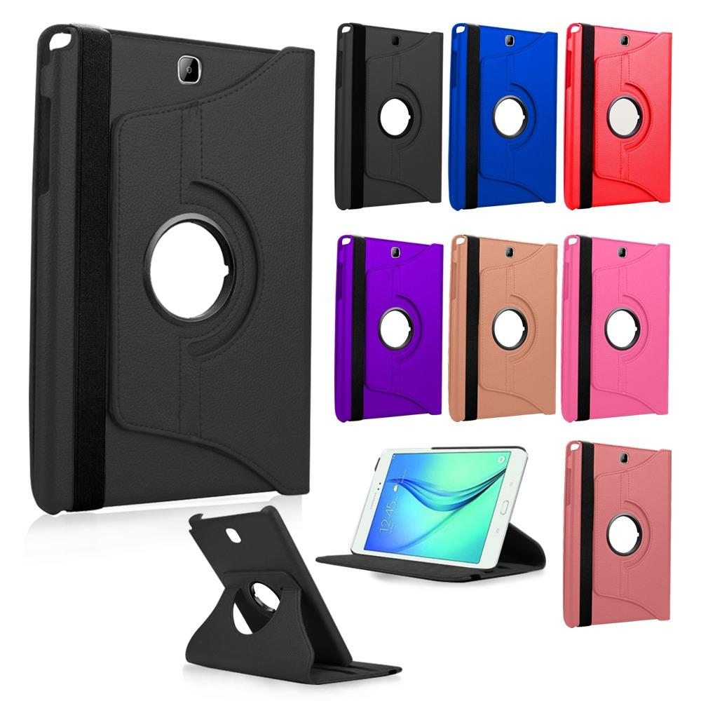 Samsung Galaxy Tab S7 SM-T870 Compatible 360 Rotating Leather Case