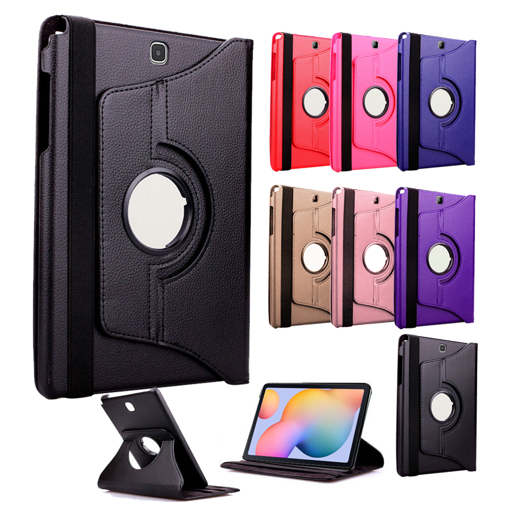 Samsung Galaxy Tab S6 Lite P610/615 Compatible 360 Rotating Leather Case