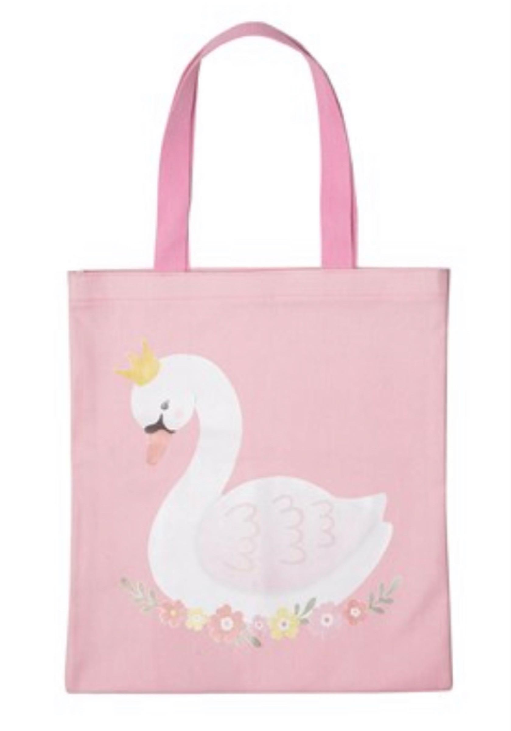 Swan Tote Bag  41.5cmx39cm (not including handles)