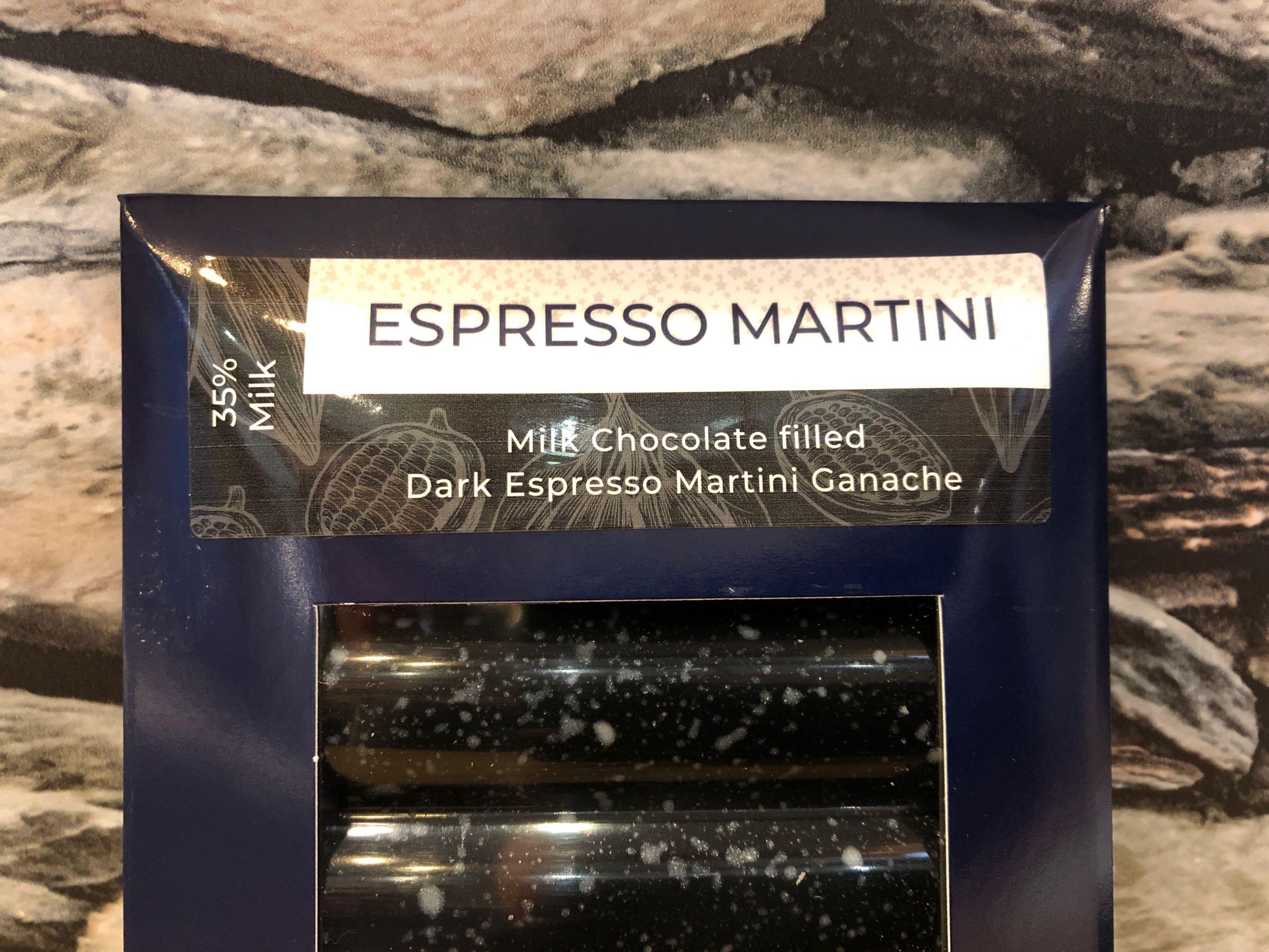 Milk Chocolate Espresso Martini Bar