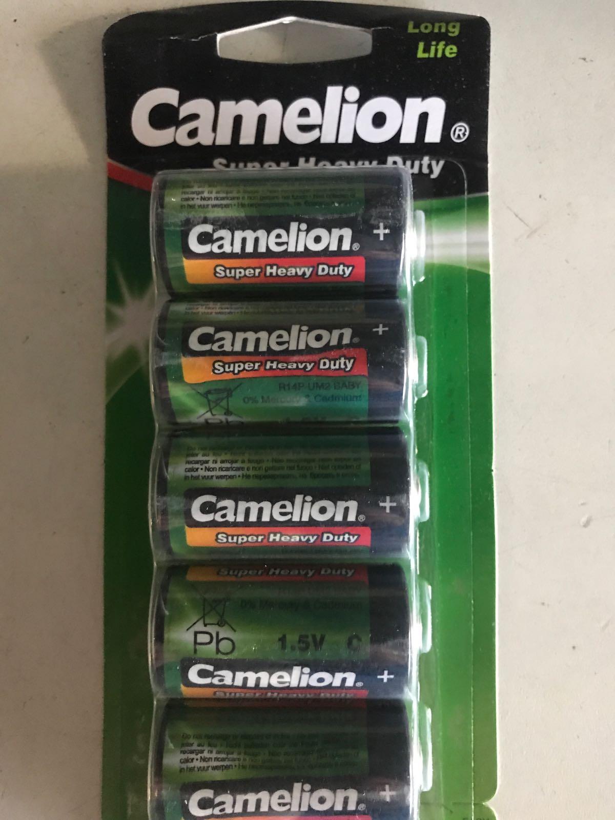 Camelion 6-pack C batterier