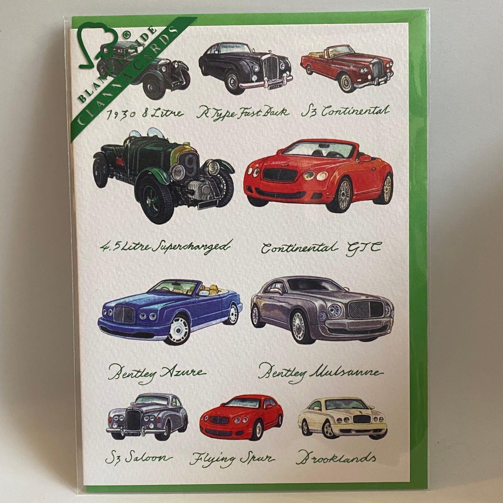 'Bentleys' Clanna Card