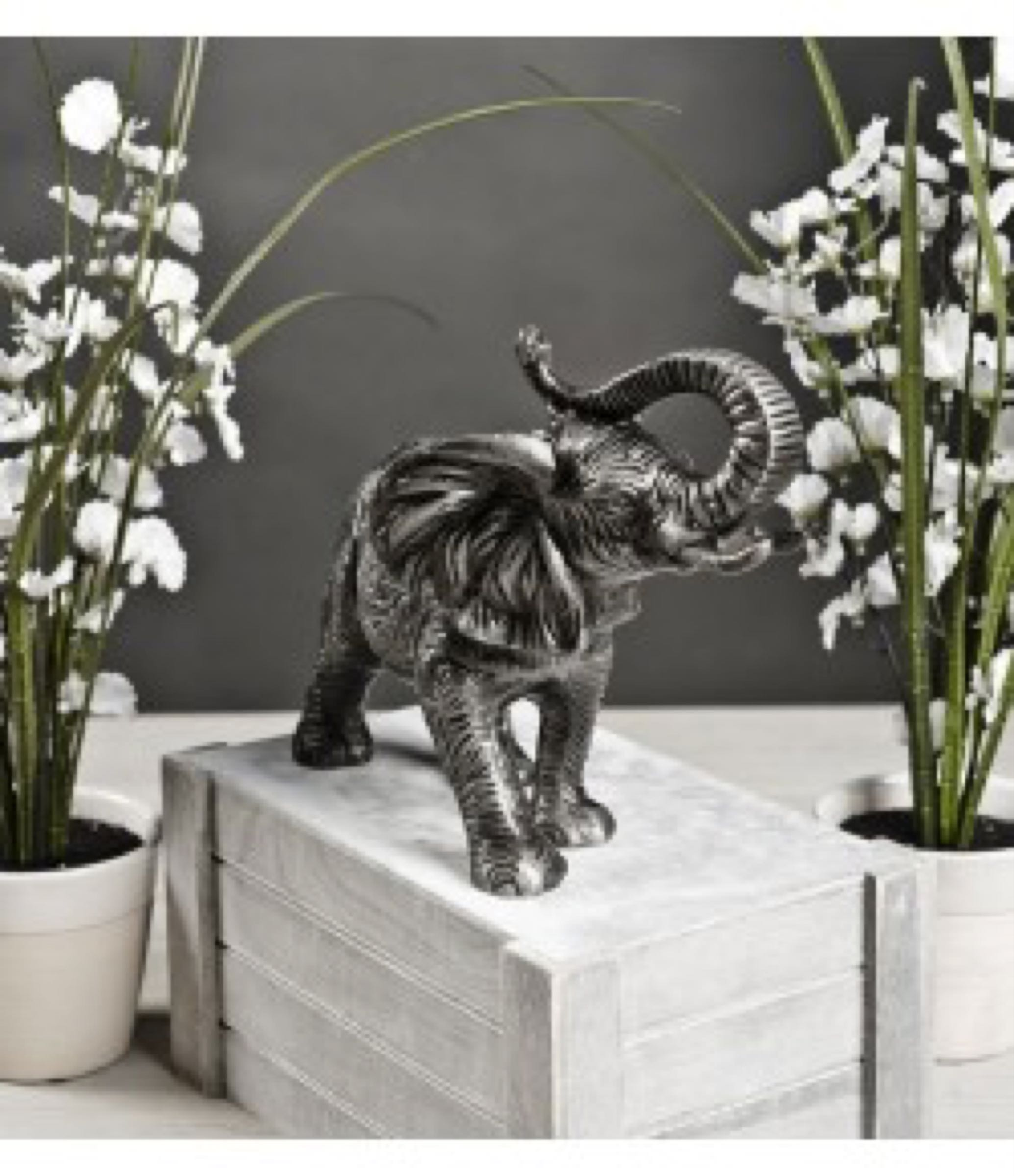 Zinc Antique Elephant Aluminium