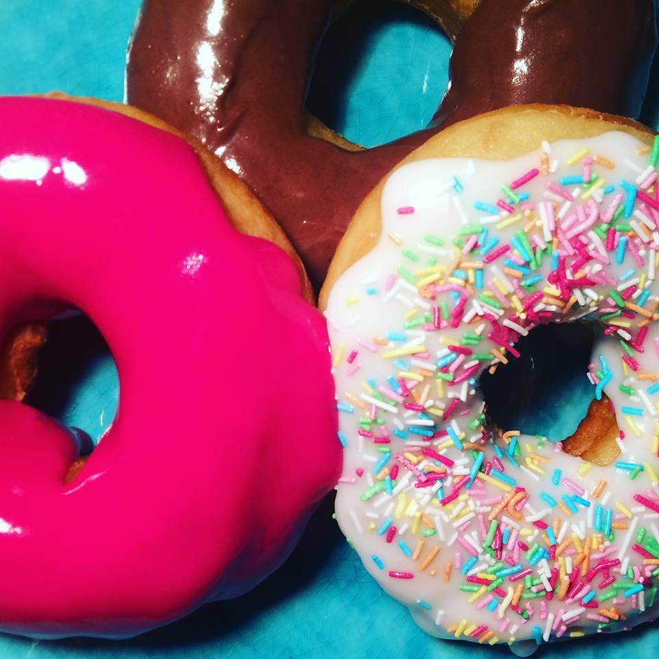 Donut med valgfri topping