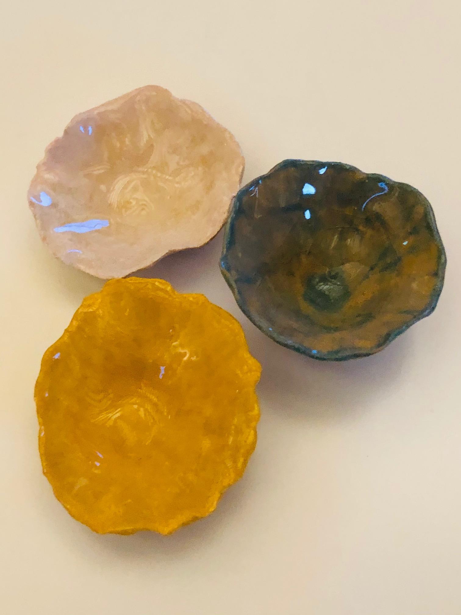 Handmade Trinket Bowls by Alex Sutherland