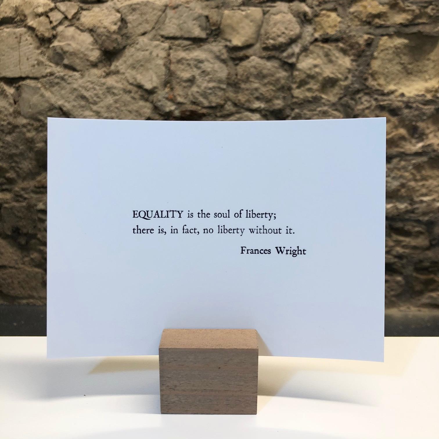 'Equality' Mini Print by Deborah Gearing