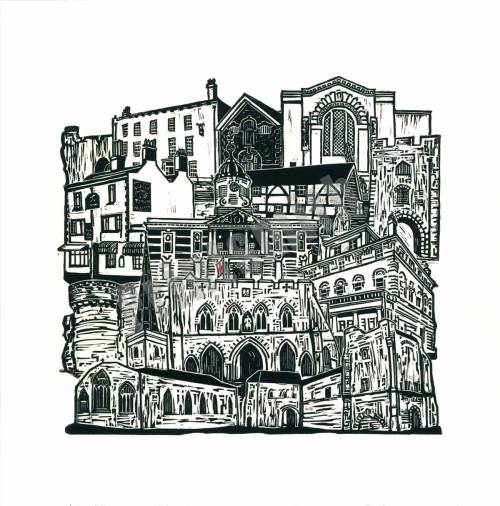Southampton Old Town Limited Edition Print by Mandy Smith