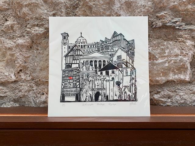 Southampton Heritage Cityscape by Mandy Smith