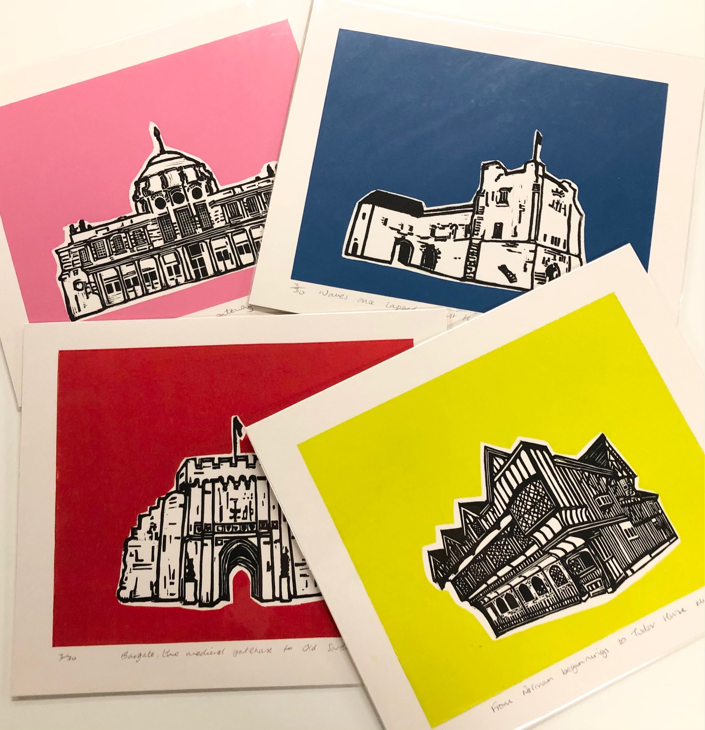 'Pop' Set of Prints by Mandy Smith