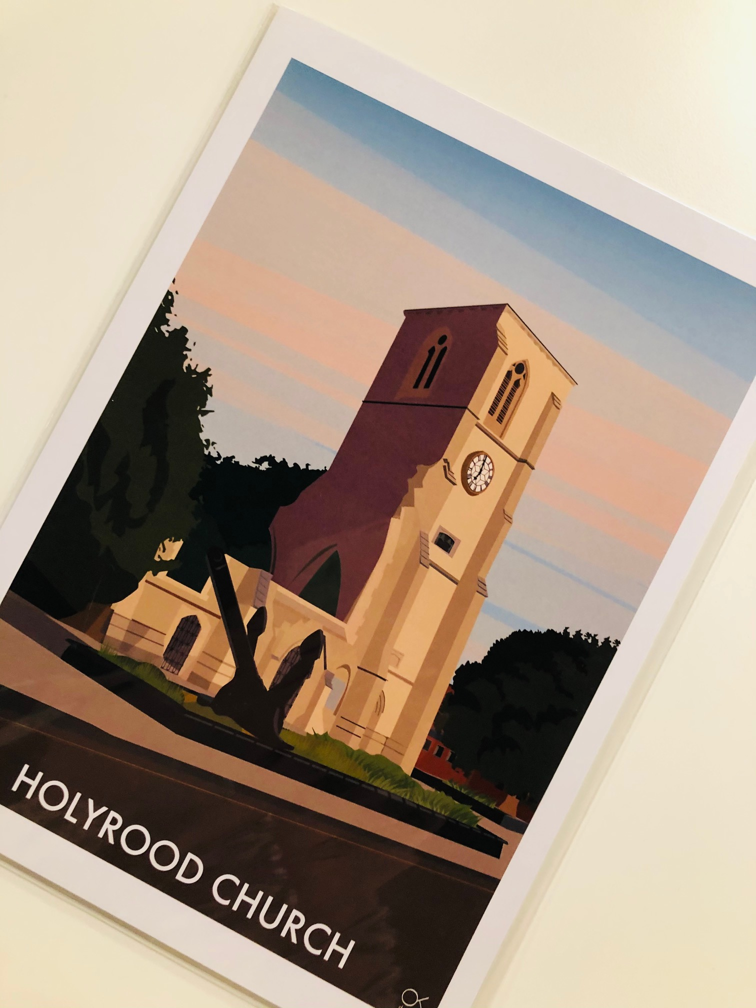 Holyrood Print by Oli Knowles