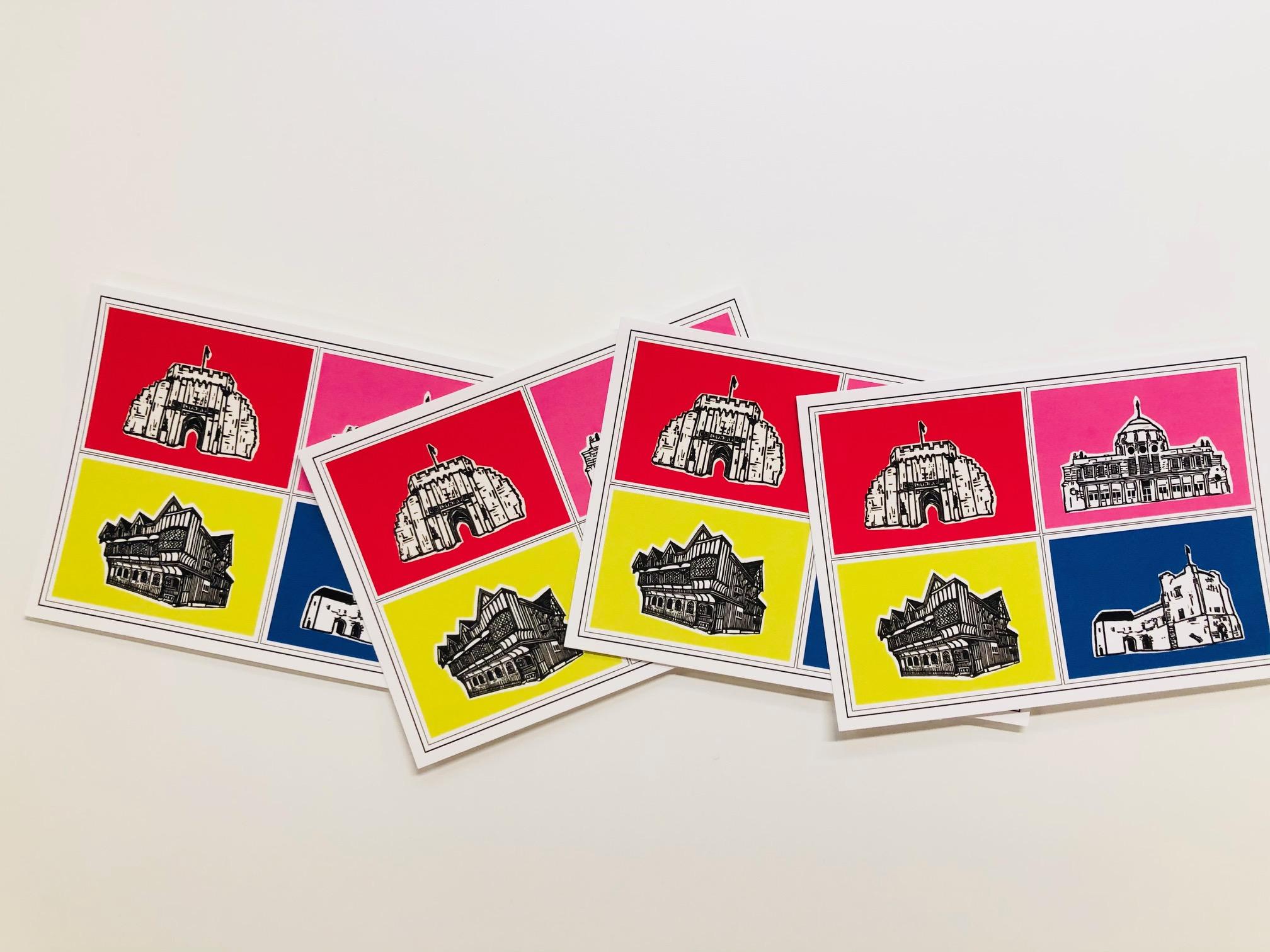 'Pop' postcard by Mandy Smith
