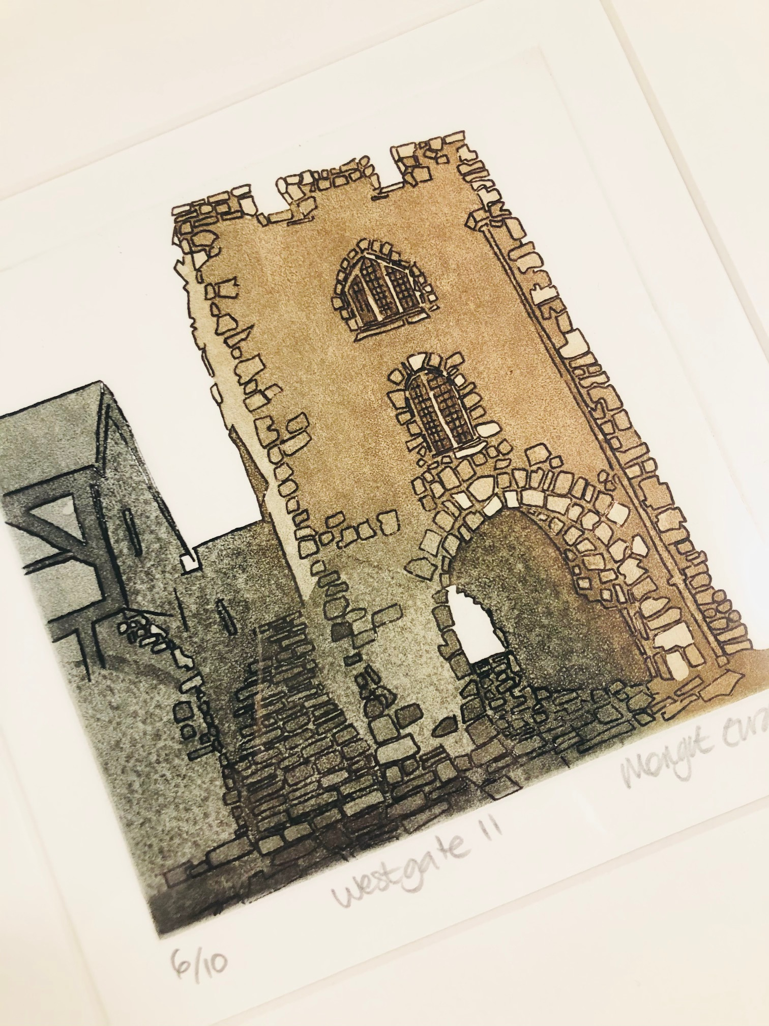 'Westgate II' Limited Edition Print by Margot Eardley