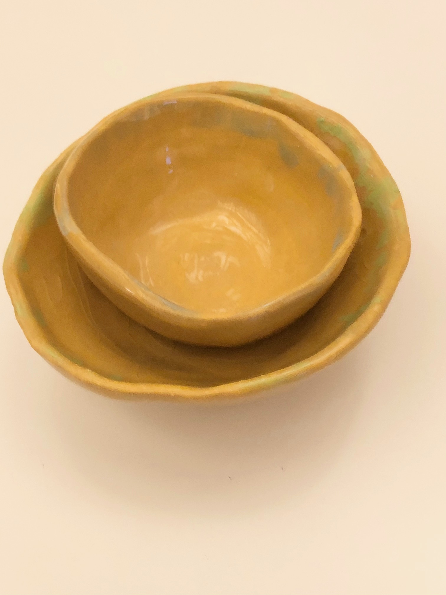 Set of Handmade Earthenware Bowls by Alex Sutherland