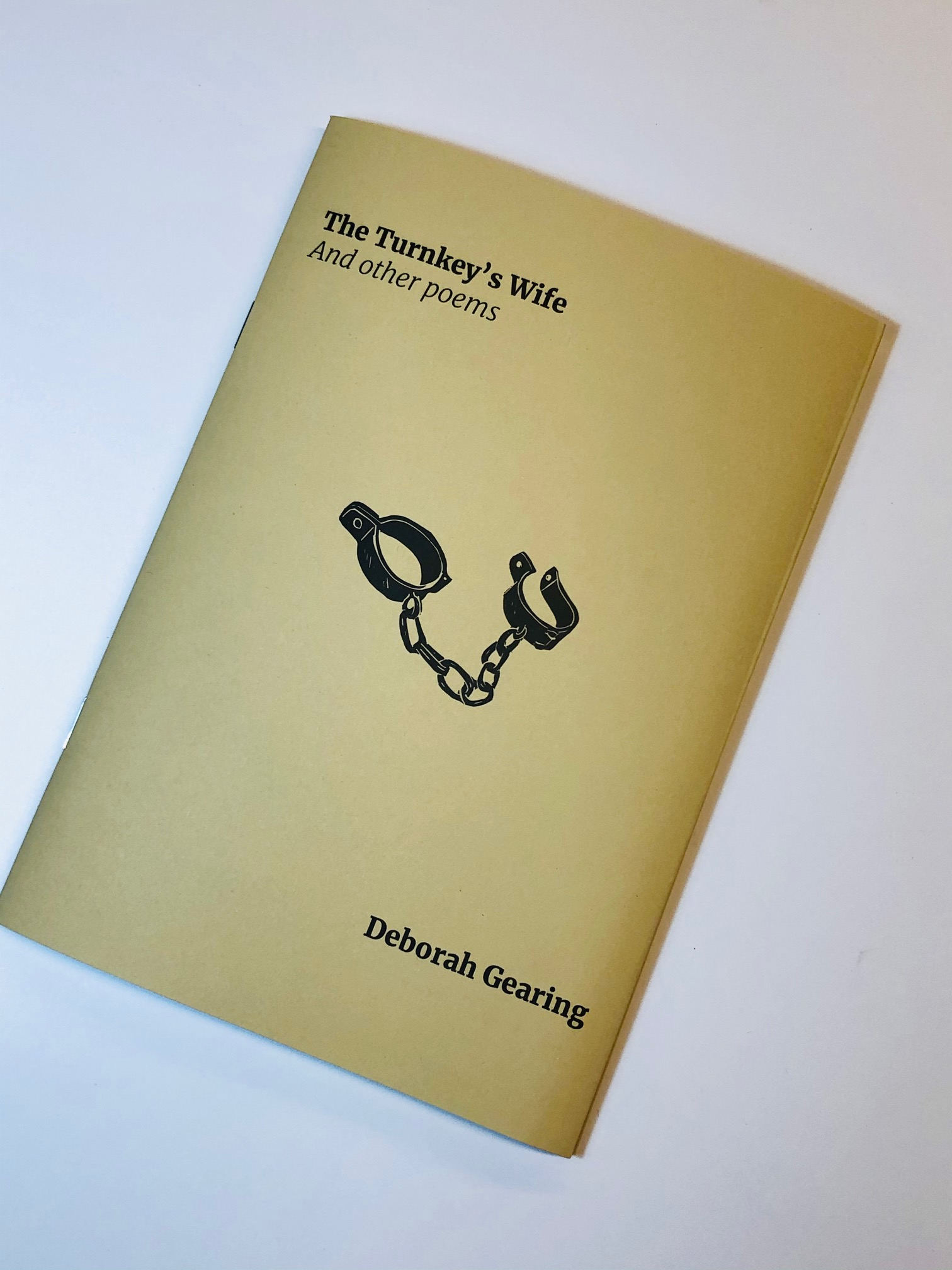 The Turnkey's Wife - Poetry Pamphlet