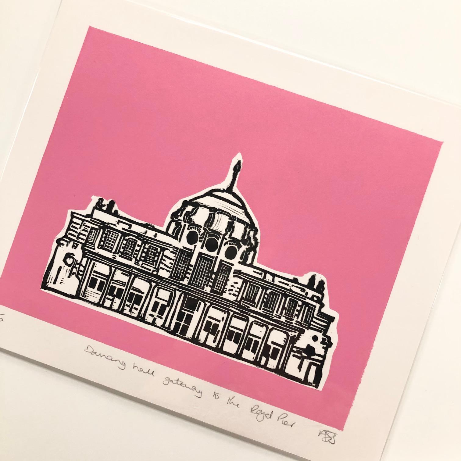 Royal Pier 'Pop' Print by Mandy Smith