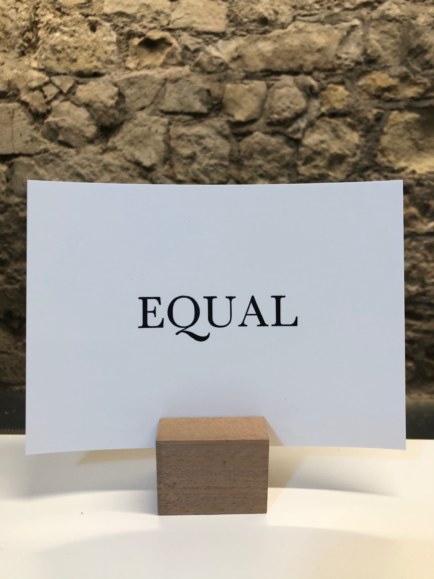 'Equal' Original Design Mini Print by Deborah Gearing