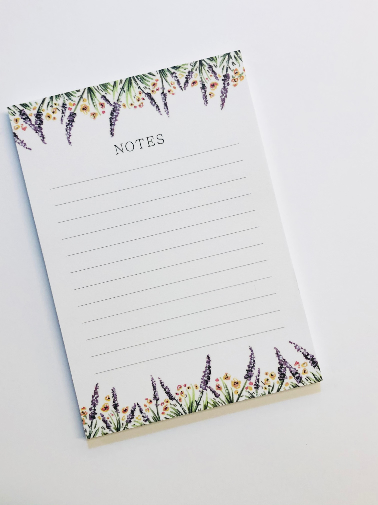 Illustrated Notes Pad by Amy Harwood