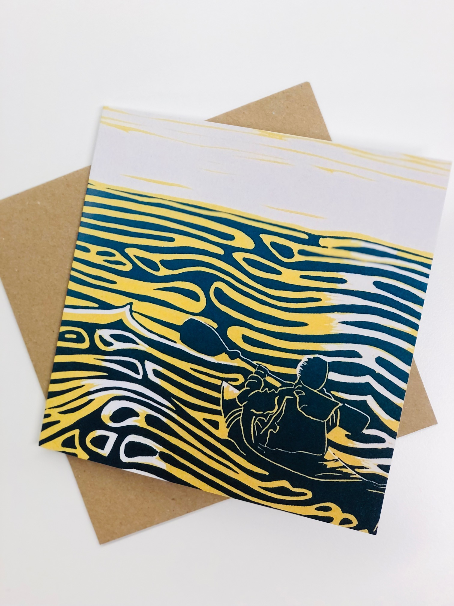'Social Isolation' Greetings Card by Aysla Williams