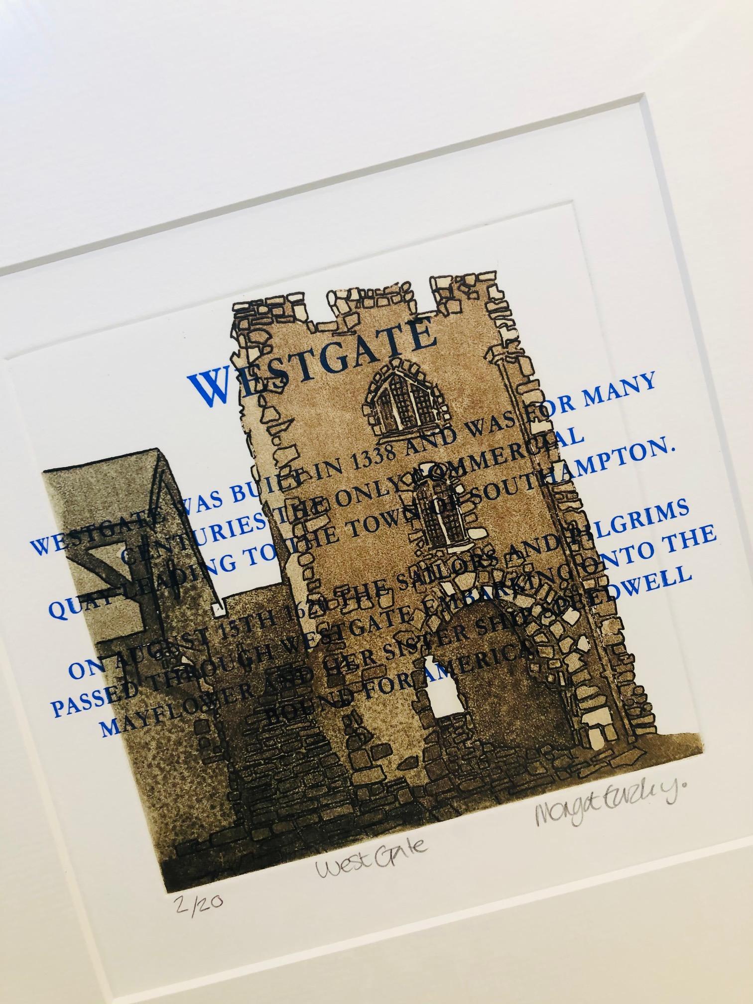 Westgate Print by Margot Eardley
