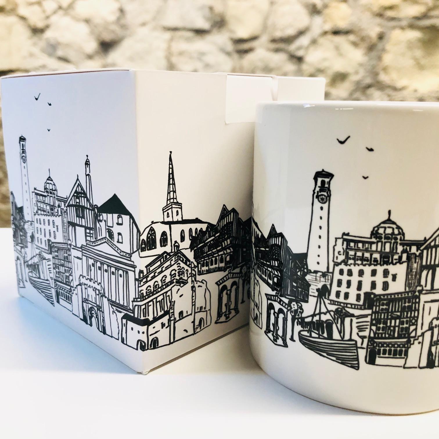 Southampton Cityscape Mug by Mandy Smith
