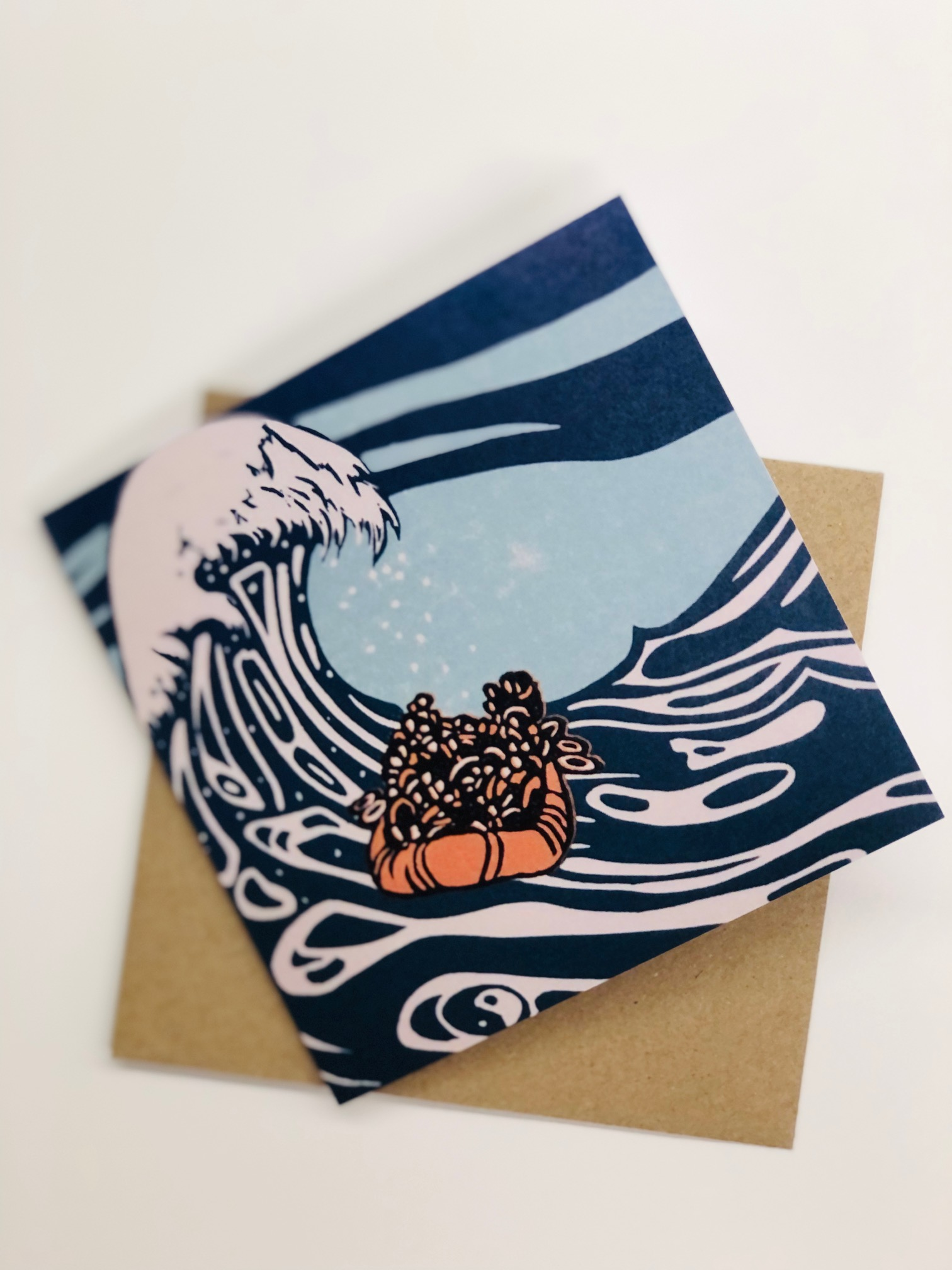 Hope and Despair greetings card by Aylsa Williams
