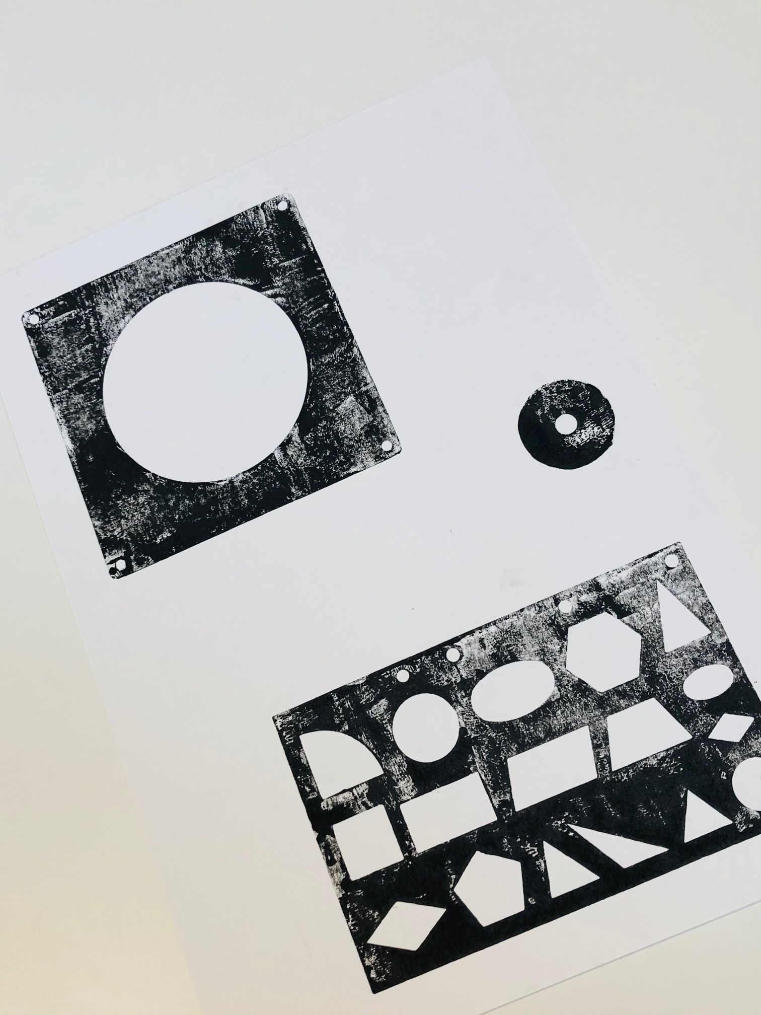 Monoprint 5 by Curtis Rayment