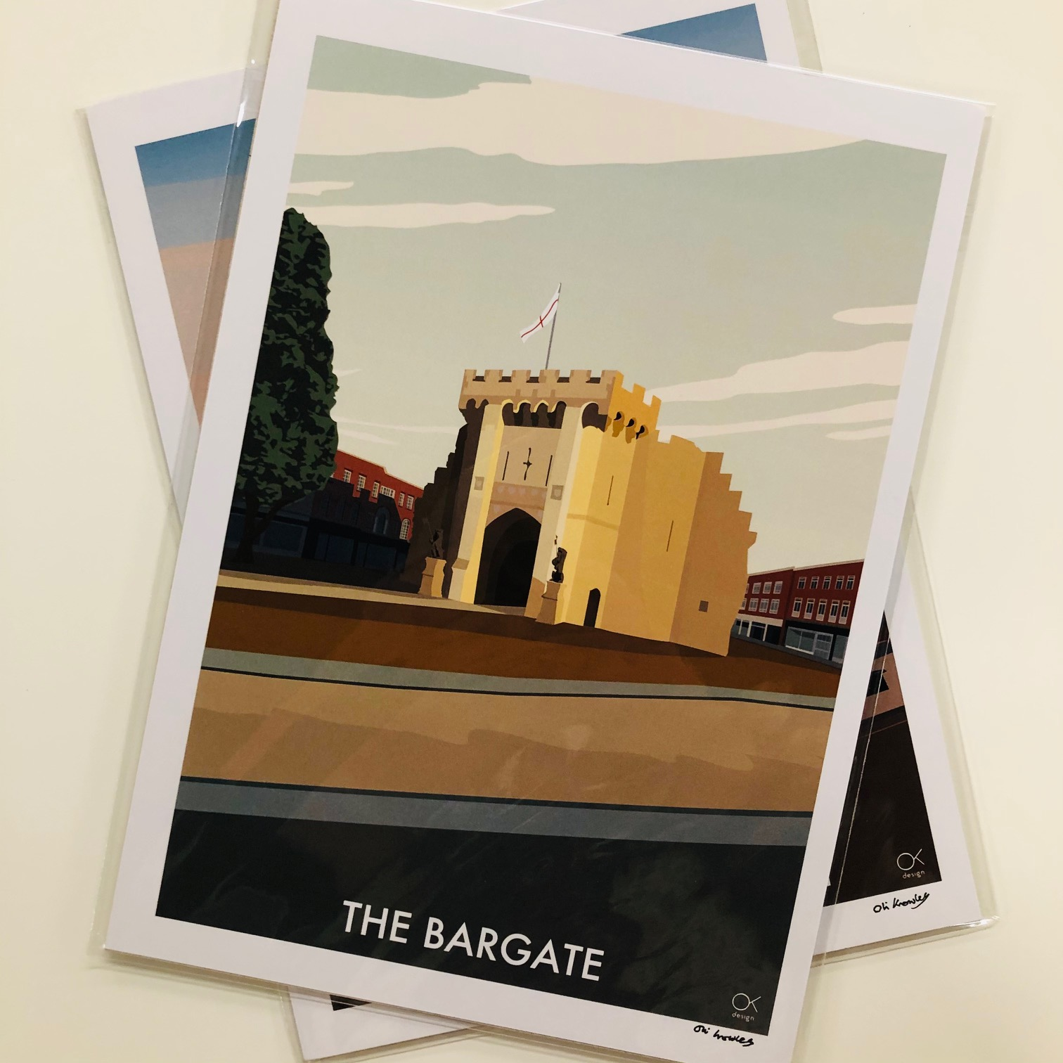 Bargate Print By Oli Knowles