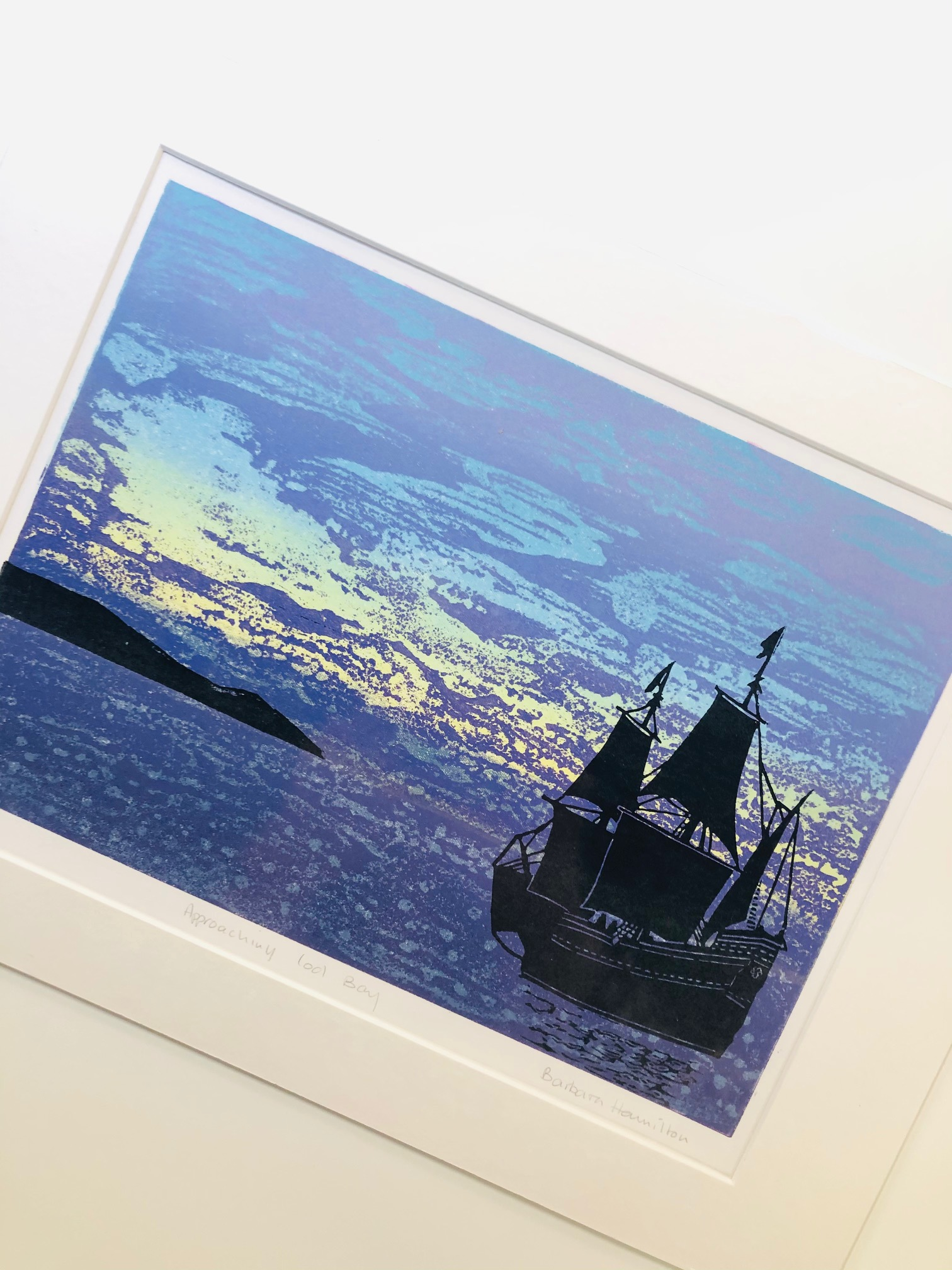 'Approaching Cod Bay' Limited Edition Print by Barbara Hamilton