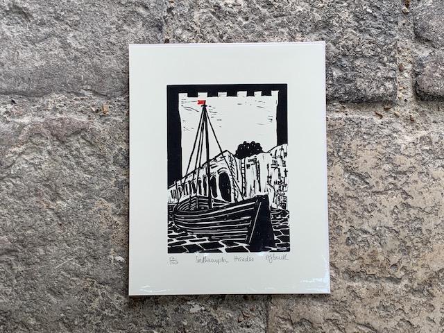 Southampton Arcades Print by Mandy Smith