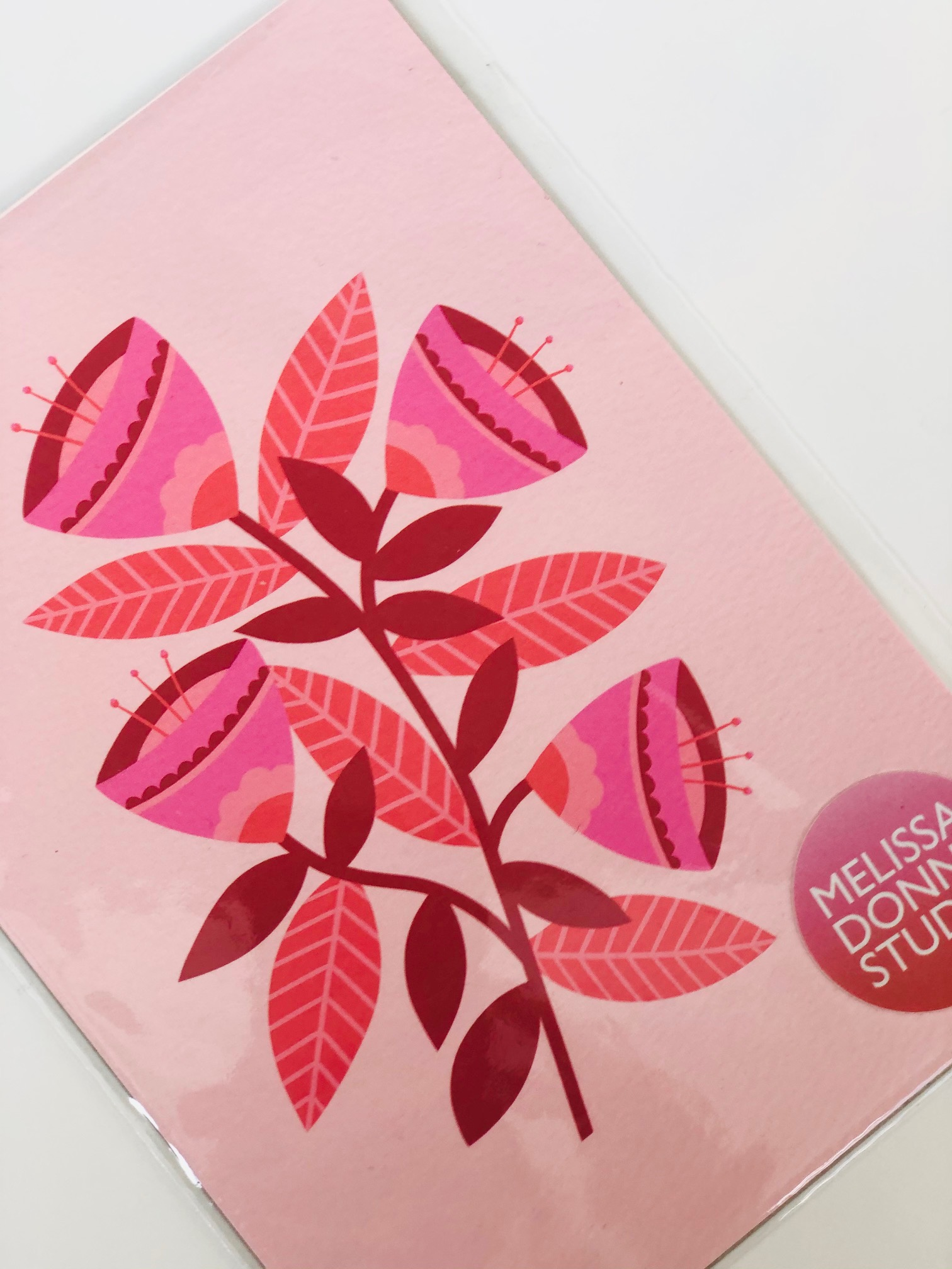 A3 Digital Print 'Pink Flowers' by Melissa Donne
