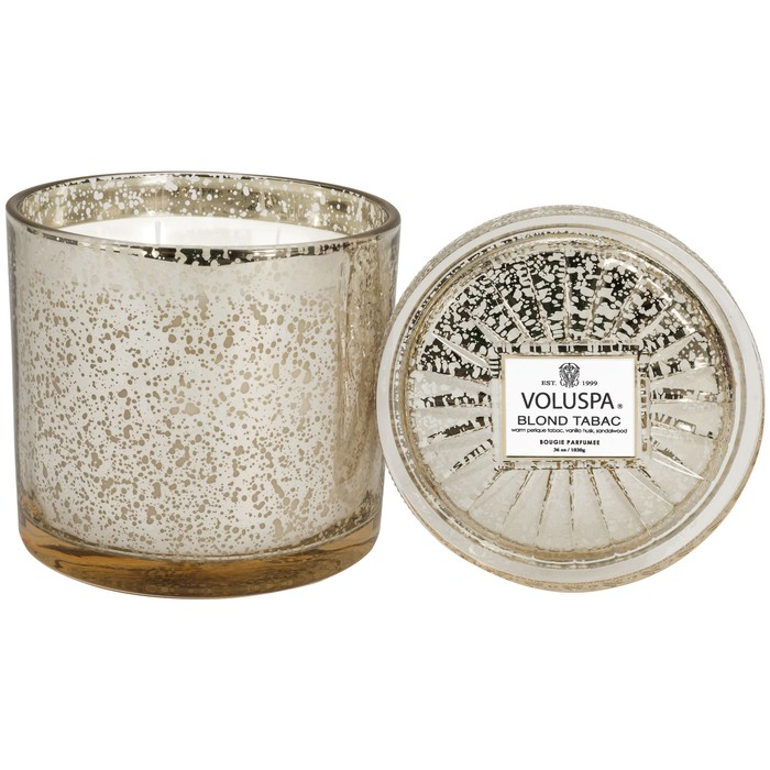 BLOND TABAC GRANDE MAISON 3 WICK GLASS CANDLE
