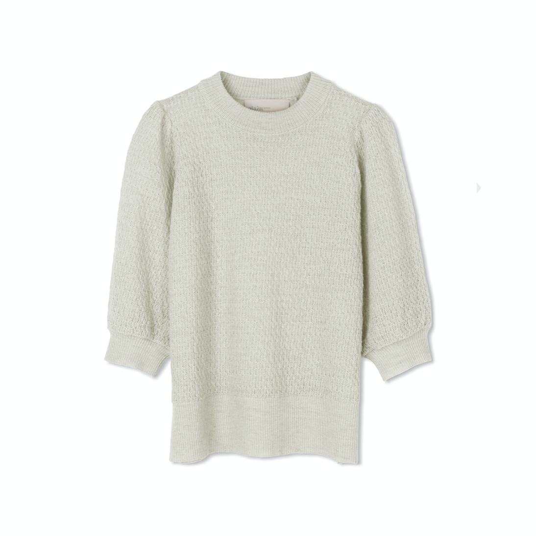ANINA KNIT BLOUSE CABBAGE
