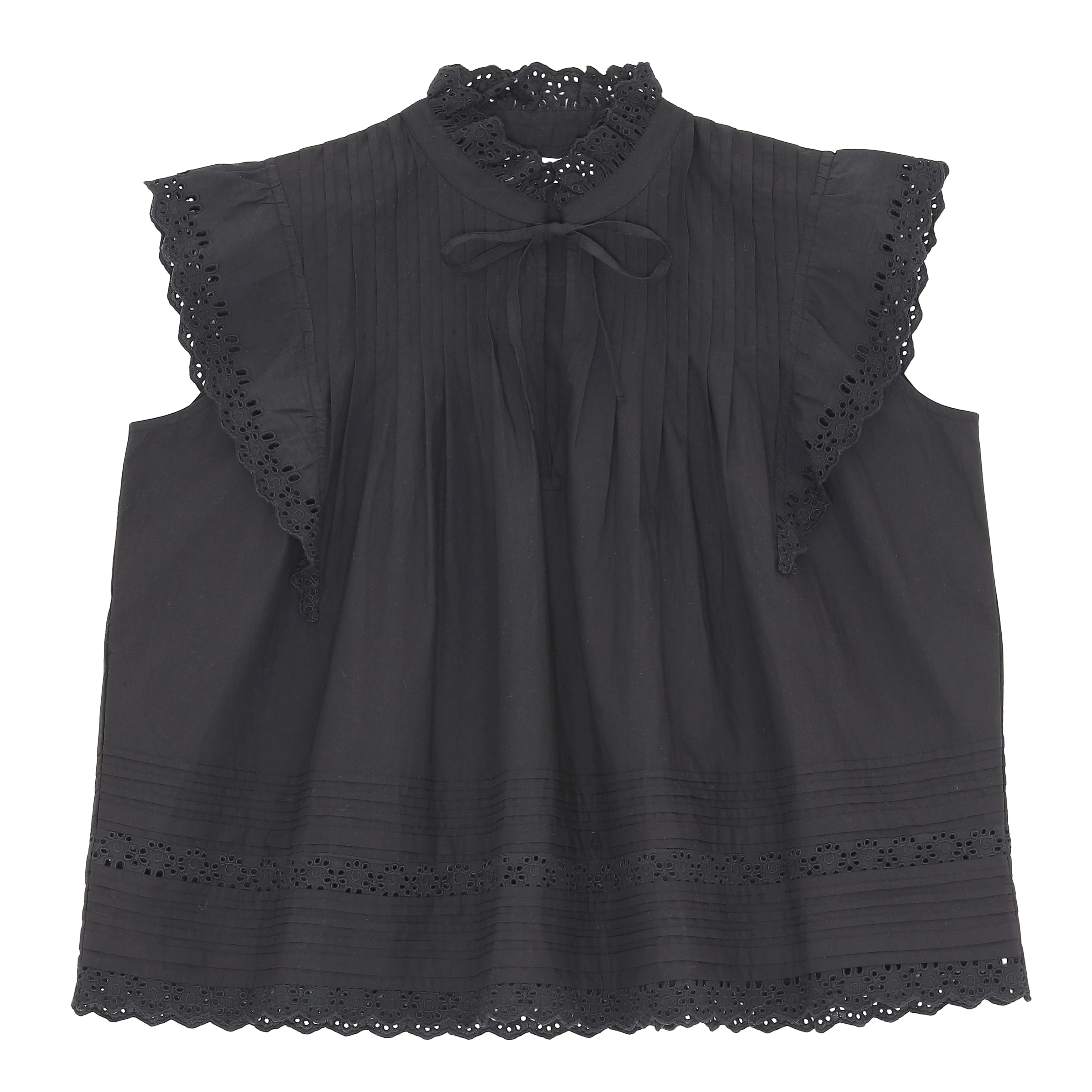 DAISY TOP BLACK