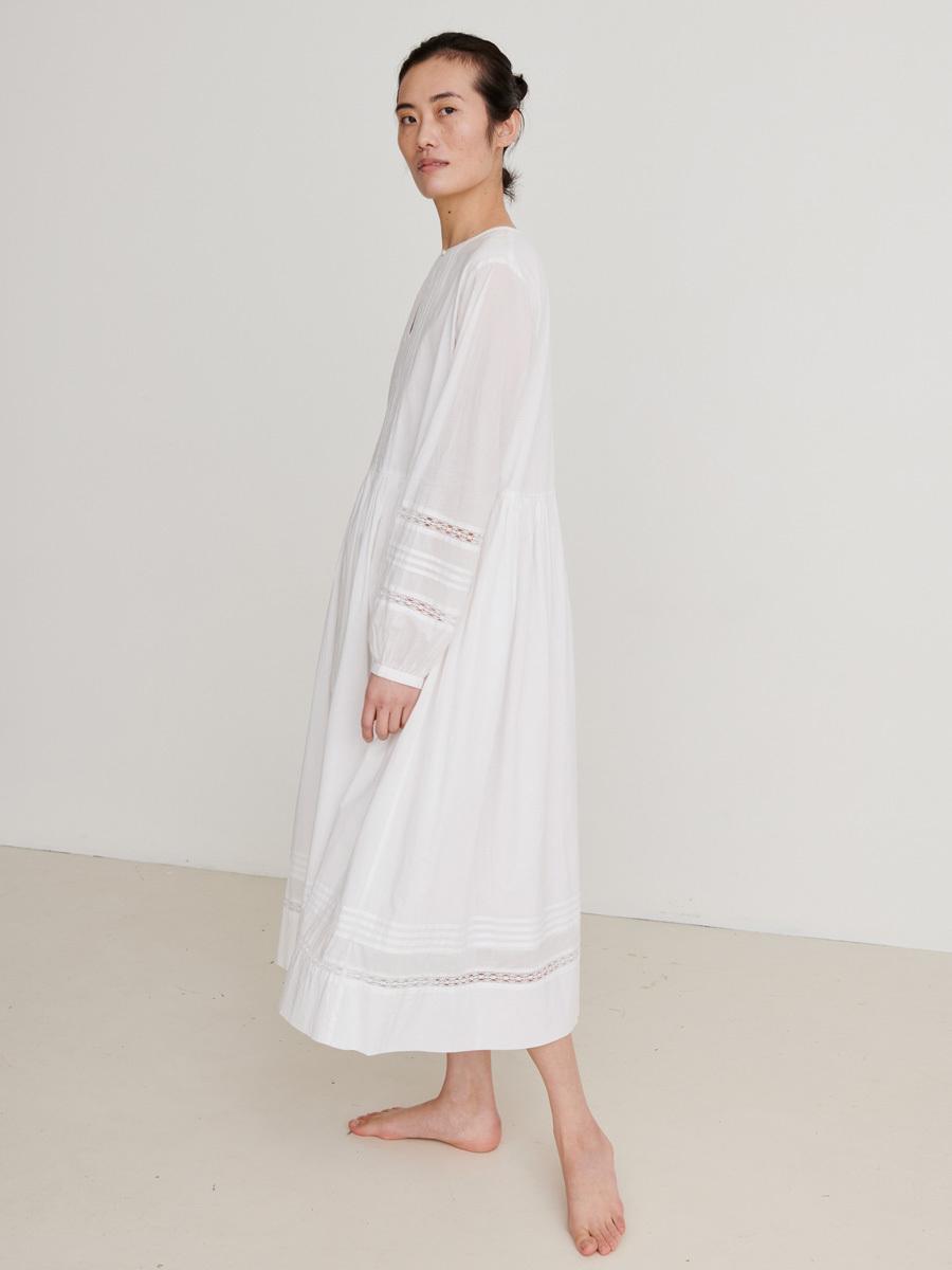 OLIVE DRESS OPTIC WHITE