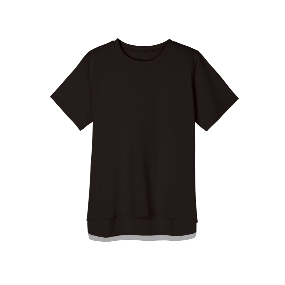 SHORT SLEEVE TEE BLACK