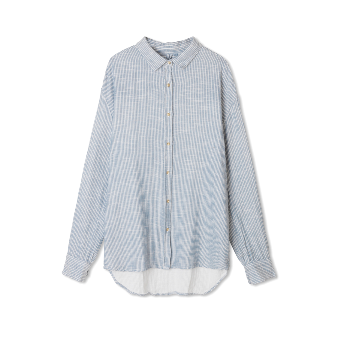 SHIRT STRIPED INDIGO