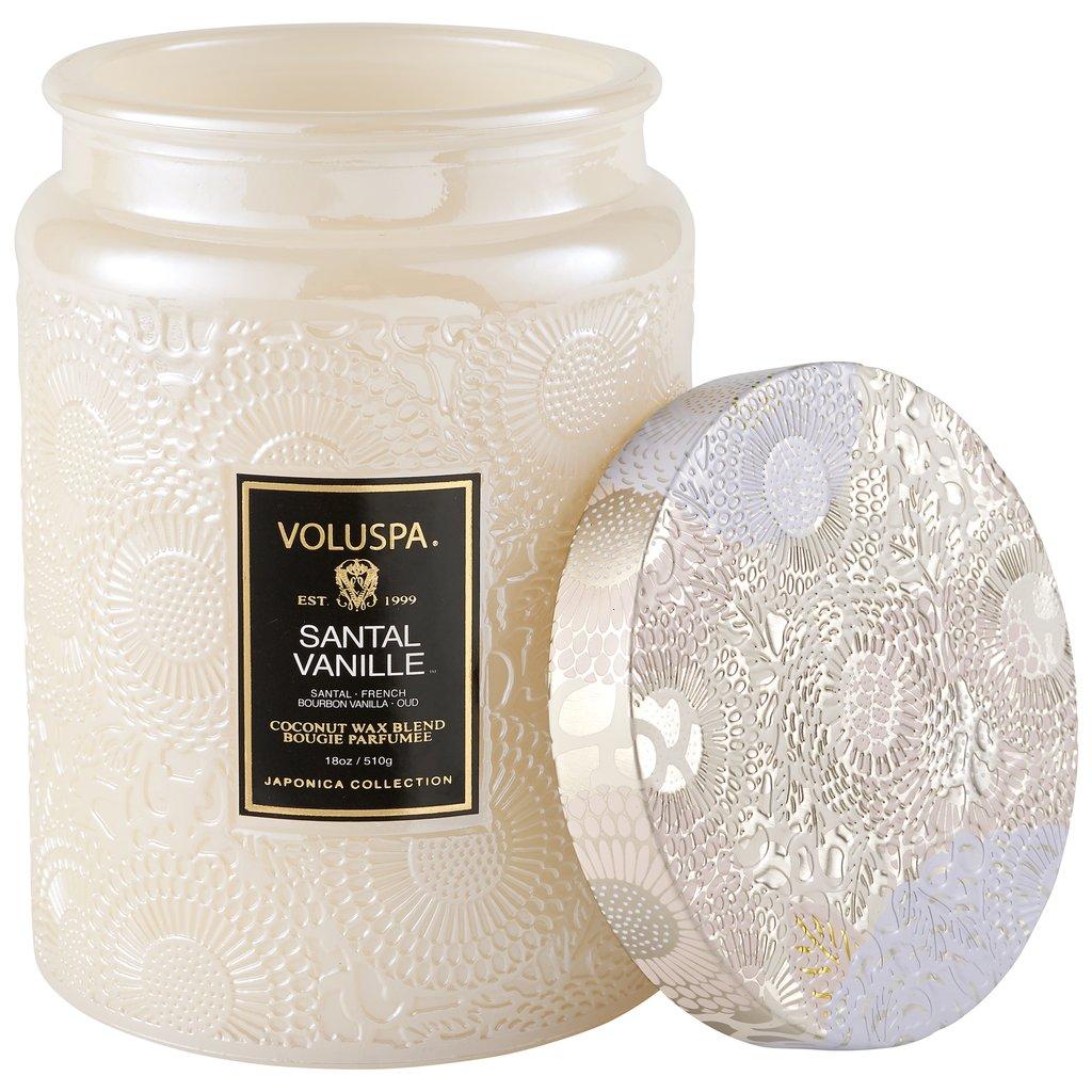 SANTAL VANILLE LARGE JAR CANDLE