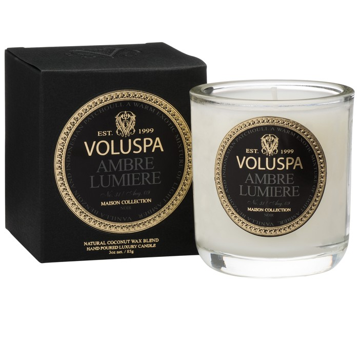 AMBRE LUMIERE VOTIVE CANDLE